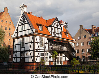 Miller's House in Gdansk - Miller's House in Old Town of...