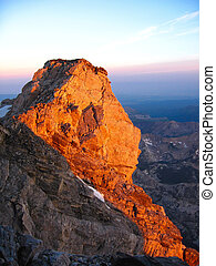 Enclosure Peak in Grand Teton National Park