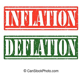 Inflation and Deflation stamps