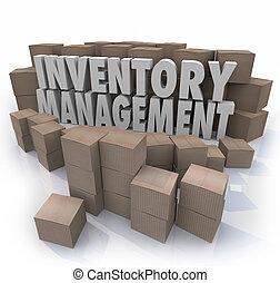 inventario, dirección, palabras, Logístico,...