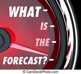 What is the Forecast Speedometer Gauge Level Measuring...