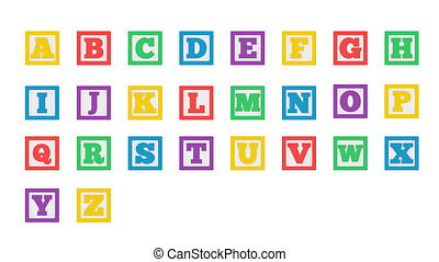 Learning Block Letters