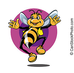 Mister Bee - mr. Bee icon or symbol