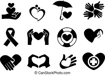 Love and Care Icons