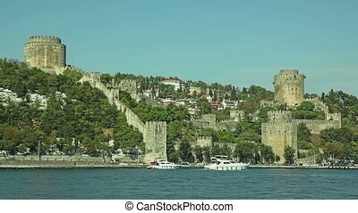 Rumelihisari castle - View of the Rumelihisari castle...