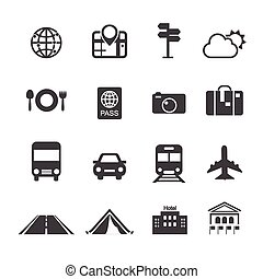 travel & transport icons