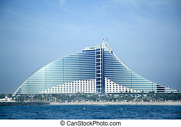 Jumeirah Beach Hotel on May 10, 2014 in Dubai