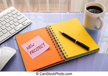 projeto, Novo,  brainstorming, idéias, negócio