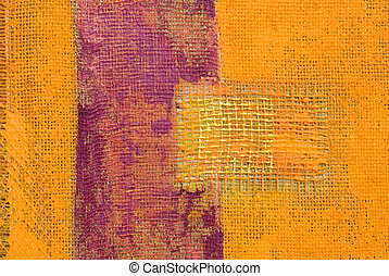 acrylic painting - abstract painting, artwork is created and...