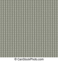 Roof tiles - A seamless tiling texture. Illustration of an...