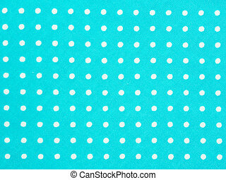 Blue cloth with white dot, Background, Texture