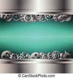 background of gear wheel