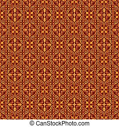 Vintage seamless wallpaper background pattern