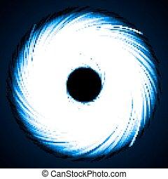rotating portal - rotating dark portal abstractshort vortex...