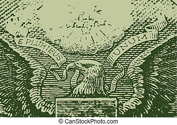 Usa Money Finance Eagle Background