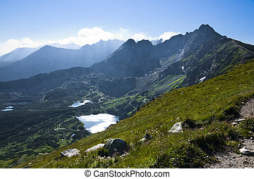 Polish High Tatras. Area Five Polish Ponds Valley