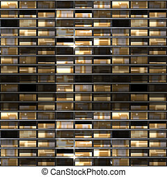 Windows - An illustration of a block of office windows that...