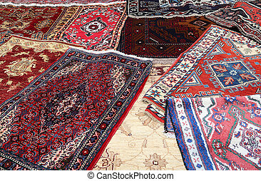 carpets l for sale in the shop of fine rugs - fine Oriental...