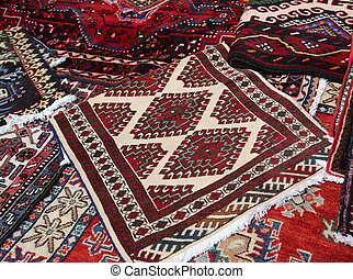 rugs Handmade wool for sale in the shop of fine rugs -...