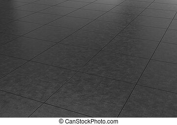 dark gray tiled floor background