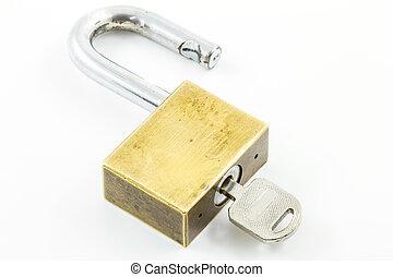 Master key isolated