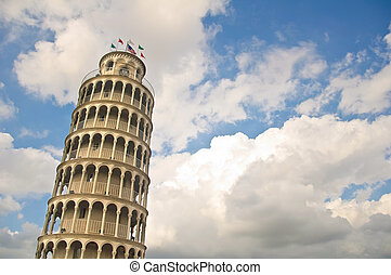 Leaning Tower - Tribute to Italy, the leaning tower of Pizza