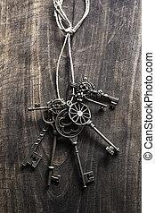 vendange, clés,