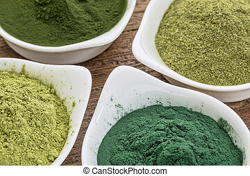 healthy green dietary supplements - four healthy green...