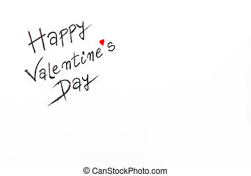 Happy Valentines Day greeting card, Conceptual image of...