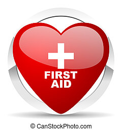 first aid valentine icon