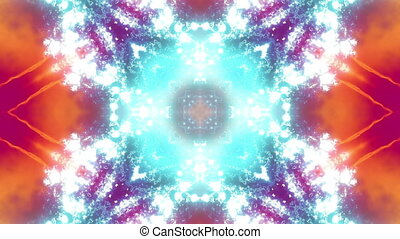 VJ Cosmic Multicolor Abstract Loop - Animated Background VJ...