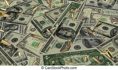 Bullets and American Money Loop - War Bullets and American...