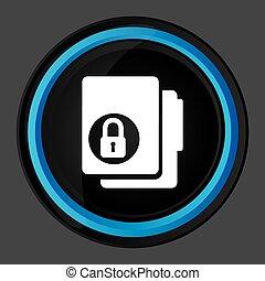 data security design, vector illustration eps10 graphic