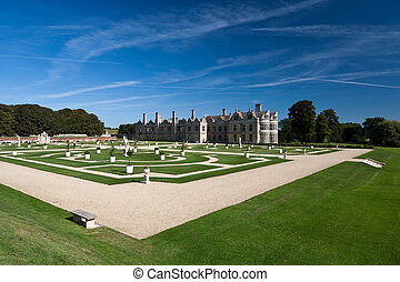 Kirby Hall Northamptonshire England - Kirby Hall and Gardens...