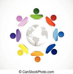 diversity around the globe