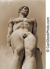 stat 12 - Beaux arts statue 1