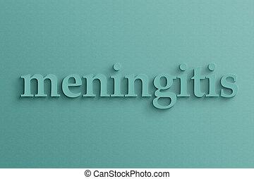 texto,  meningitis