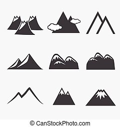 mountain icons