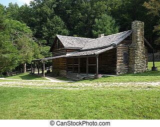 Old farm house - old historic farm house in rural North...