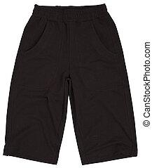 Male shorts isolated on white background - Male shorts...