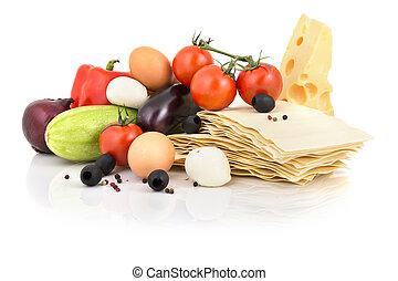 lasagne, ingrédients,