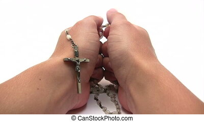 Praying the Rosary - Canon HV30 HD 16:9 1920 x 1080 2500 fps...