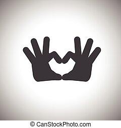hand,love symbol