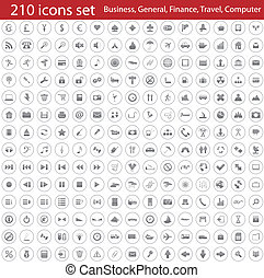 icons set - Biggest collection of different icons for using...