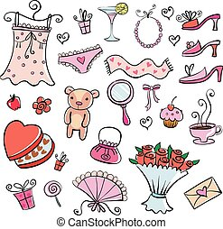 Gift Ideas for girl - different nice things for the girl,...