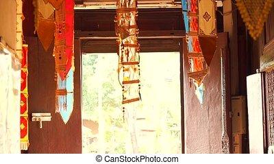 Northern Thailand decorative fabric - Northern Thailand...