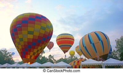 Hot Air Balloon festival - Hot Air Balloon, International...