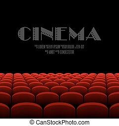 映画館, スクリーン,