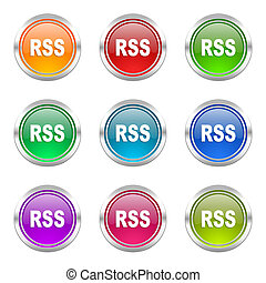 rss icons set