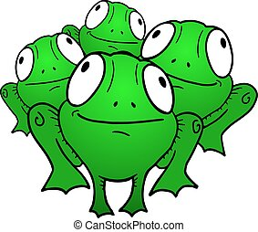 Small frog - Creative design of Small frog